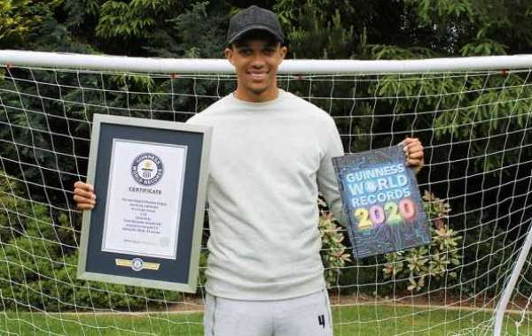 Alexander-Arnold Enters Guinness World Records