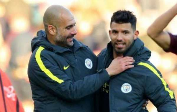 Aguero Is Irreplaceable At Man City, Says Pep Guardiola