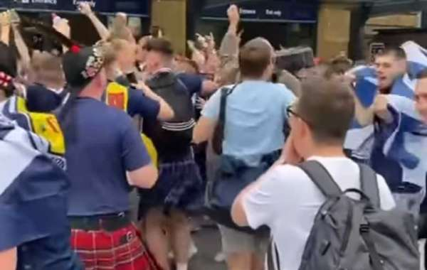Scotland Fans Are In Town