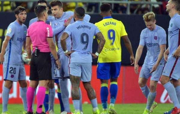 Pique Sends Message To Barcelona After Cadiz Draw