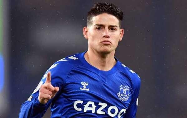 James Rodriguez Joins Qatari side Al Rayyan From Everton