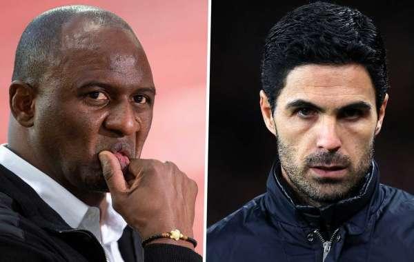 Arteta Heaps Praise On Vieira Ahead Of Arsenal's Game Against Crystal